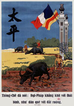Affiche Indochine Hanoï 1942