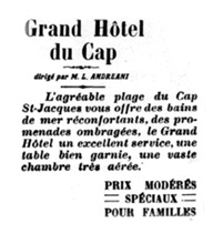 Grand Hotel Cap Saint Jacques