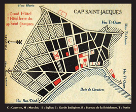 Map Cap St. Jacques 1939