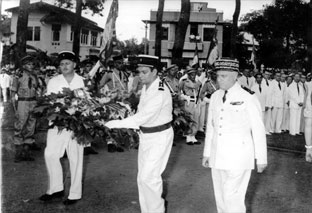 French Gendarmes Saigon april, 10 1956