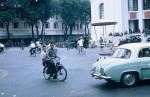 In 1963 Solex in front the Theater  (Parliament) Saigon