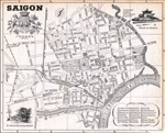 Saigon Map in 1953