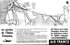 Air France Constellation Saïgon