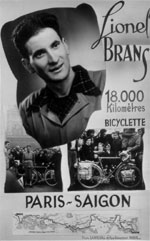 Lionel Brans Paris-Saigon à bicylette