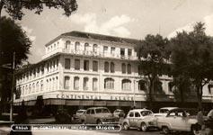 Hôtel Continental Palace en 1950 Saïgon