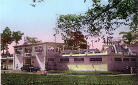 The Saigon C.S.S. swimming pool 1954