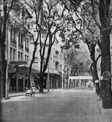La rue Catinat à 1 heure de l'après-midi
