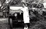 Auxiliaire F�minime Jeep Indochine 1953