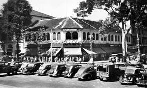 Aux Nouveautés Catinat Saïgon 1950