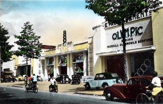 Cinema et Garage Olympic Saigon