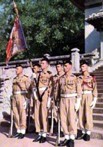 Gendarmes Saigon Indochine