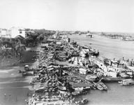 Port Commercial de Saigon 1950
