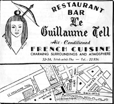 Restaurant Le Guillaume Tell Saigon