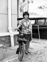 Saigonnese with a Solex