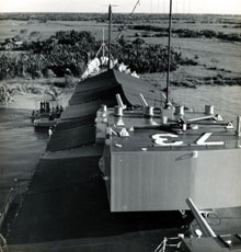 USS Saint-Paul Saigon 1956
