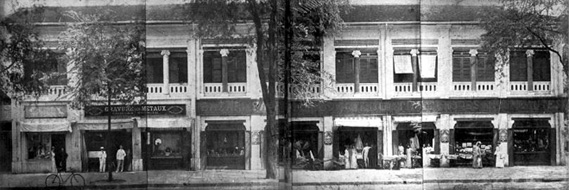 The store around 1900