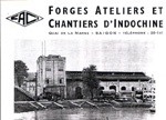 Saci Forges Ateliers et Chantiers Indochine