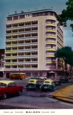 Hotel Caravelle place Law-Son, rue Tu Do Saigon