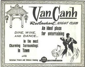 Van Canh Dine, wine and Dance Saigon