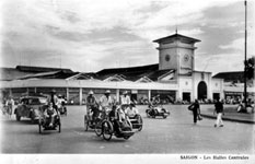 Saigon Central Market in 1950