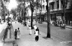 Catinat Street Saigon in 1950