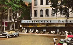 Hôtel Continental Palace au début des années 50 Saïgon