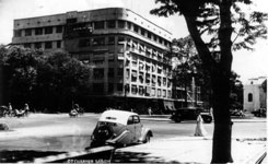 Peugeot 202 on Charner Boulevard Saigon