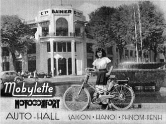 Mobylette Motoconfort Saigon